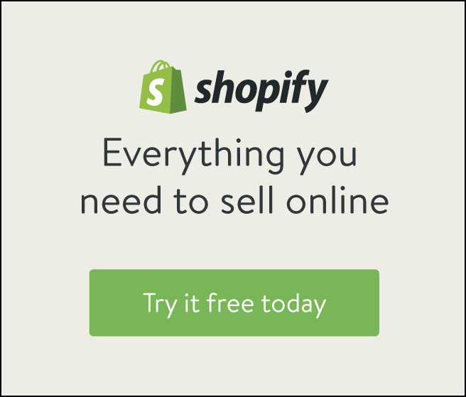 Shopify Trial Advert